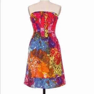 Anthro Moulinette Soeurs Watercolors Dress